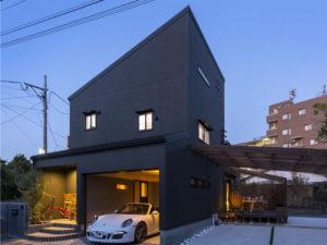 ガレージスタイルの家